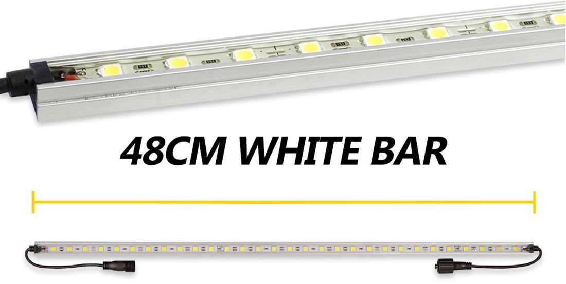 Hard Korr 48cm White LED Light Bar