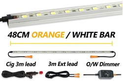 Hard Korr 48cm Orange/White LED Light Kit