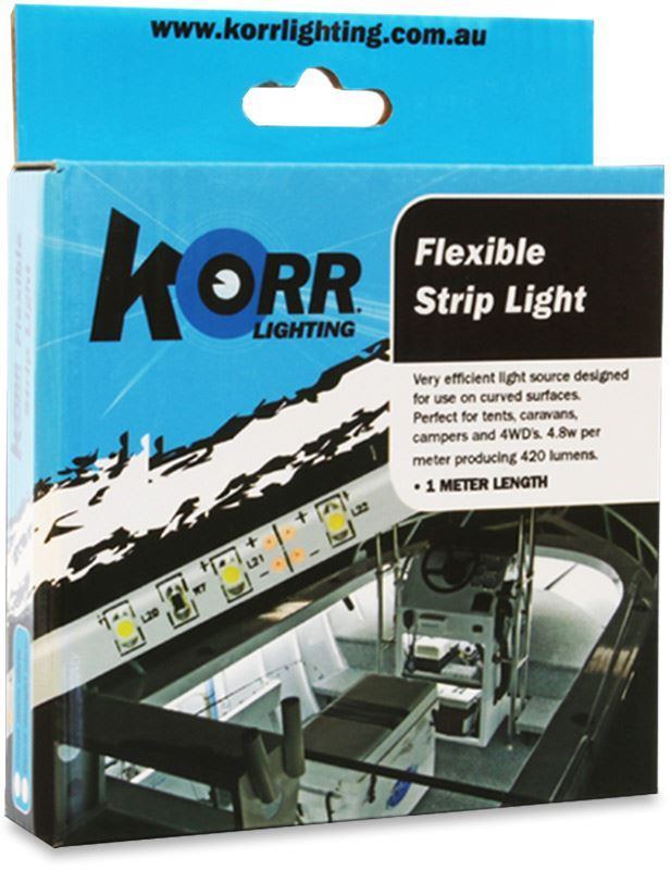 Hard Korr Low Powered LED Flex Tape 1m