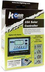 Korr 15 Amp Solar Controller