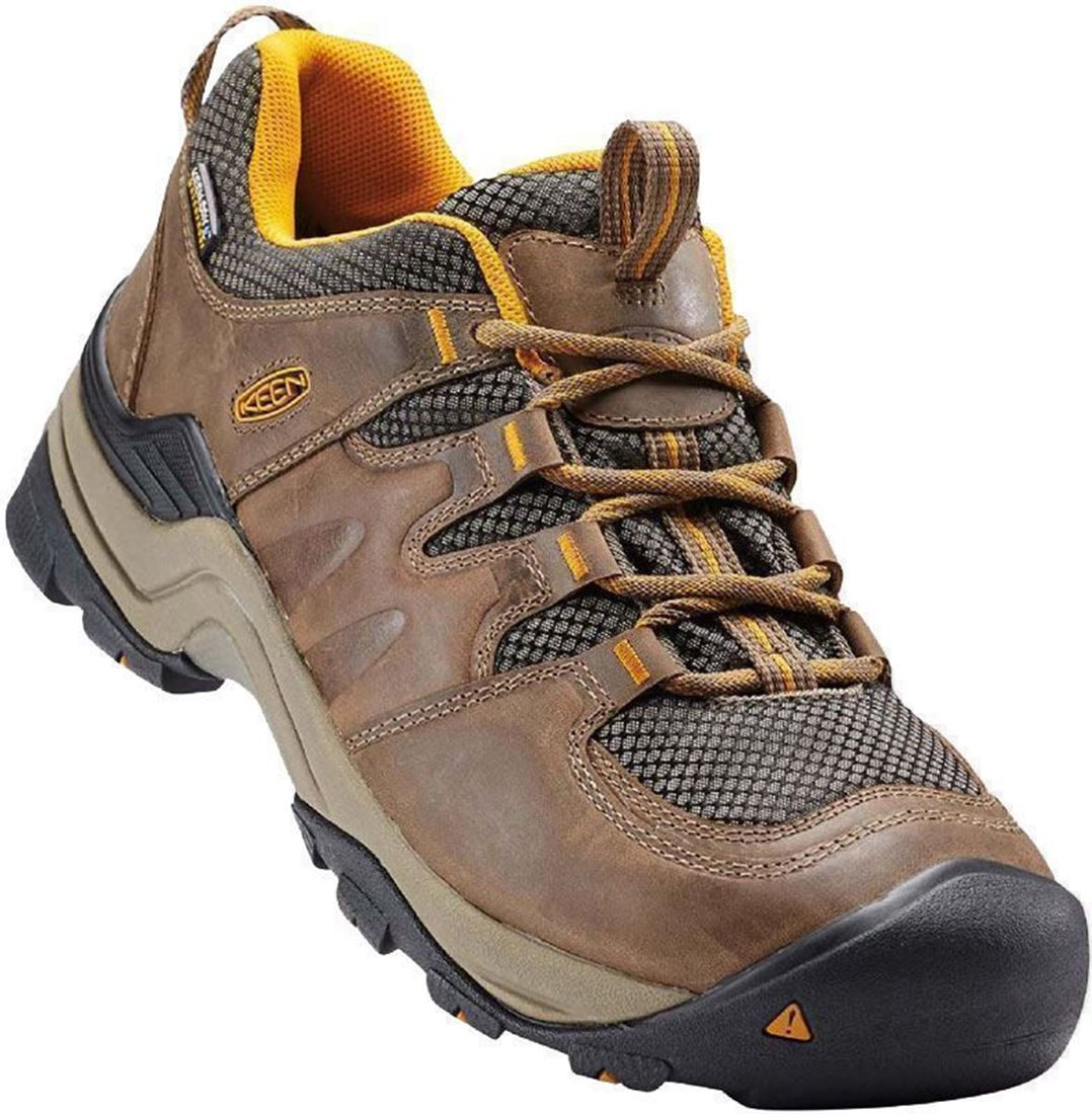 Keen Gypsum II Men's Shoe Shitake Golden Yellow