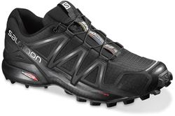 Salomon Speedcross 4 Men's Shoe US 8 Blk Blk Blk Metallic