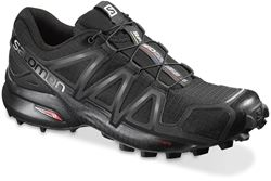 Salomon Speedcross 4 Wmn's Shoe Blk Blk Blk Metallic