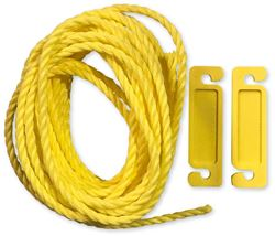 Coghlans Guy Ropes 2 Pack - Yellow