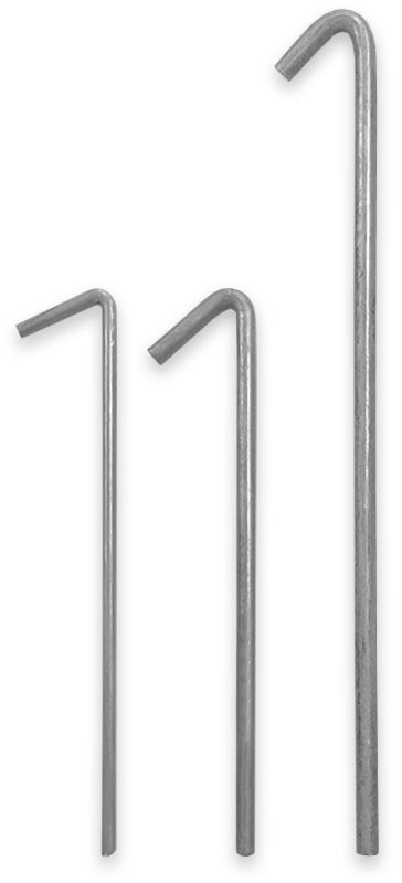 Poles Apart Steel Tent Peg - All sizes
