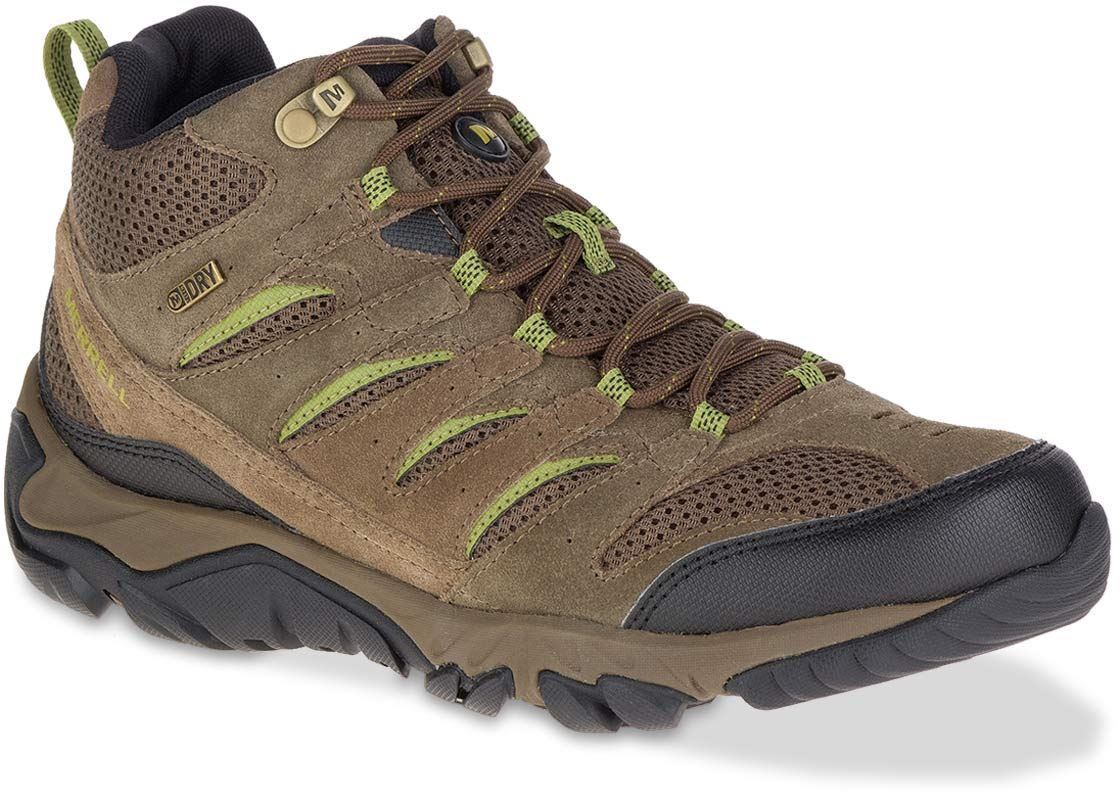 Merrell White Pine Mid Ventilator Men's Boot Dark Earth