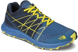 The North Face Ultra Vertical Men's Shoe US 8 Seaport Blue Acid Yellow