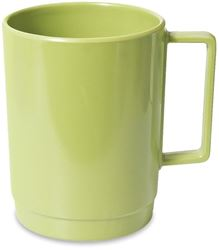 Campfire Melamine Stackable Mug - Lime