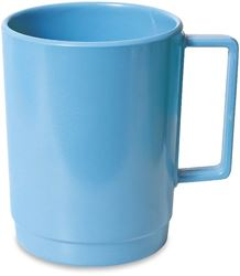 Campfire Melamine Stackable Mug - Blue