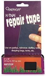 Kenyon Ripstop Repair Tape - Black