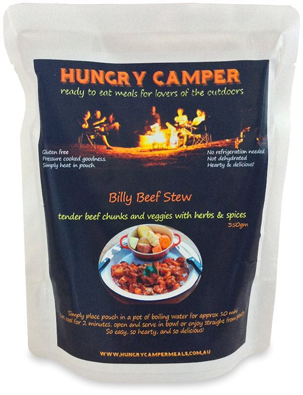 Hungry Camper Billy Beef Stew