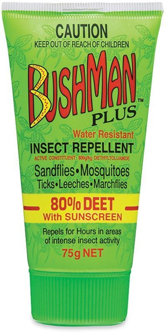 Bushman Repellent Plus 75g Tube