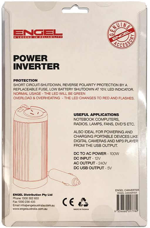 Picture of Engel Canverter Power Inverter with USB