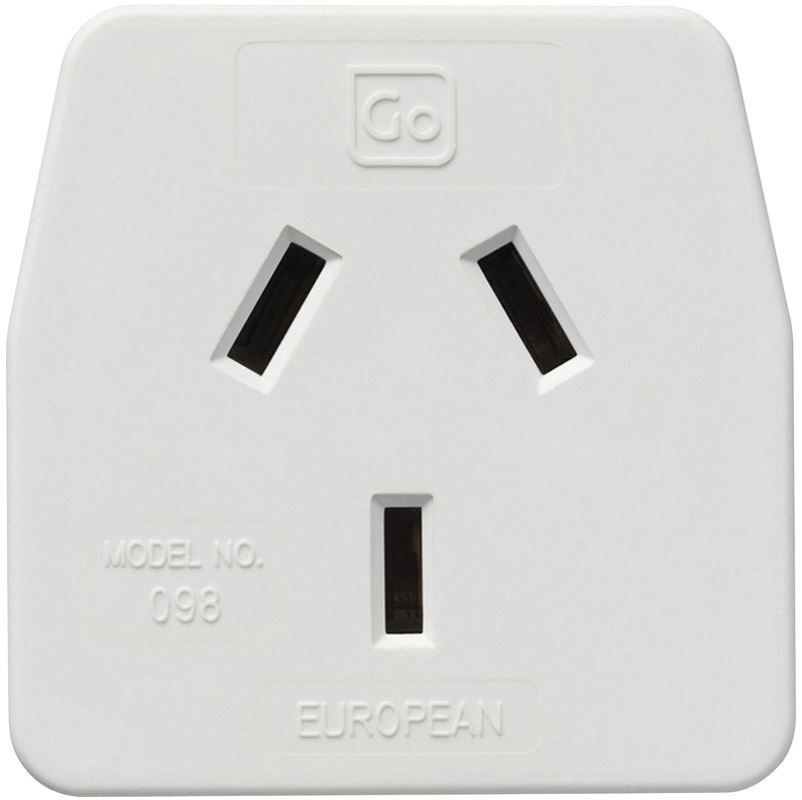 Go Travel European Adaptor