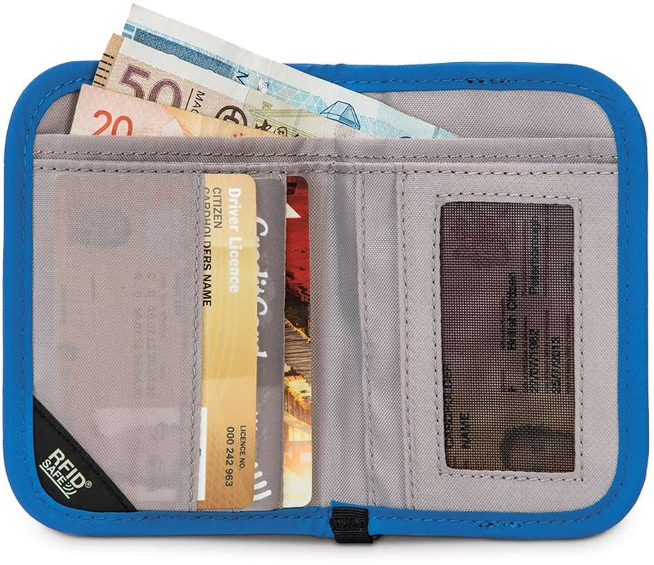Pacsafe RFIDsafe V50 Compact Travel Wallet
