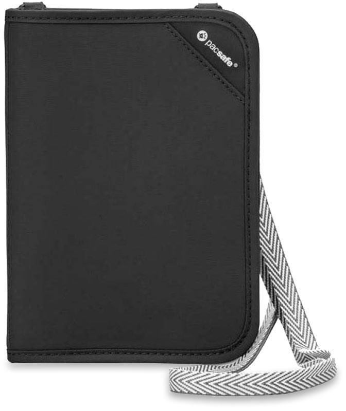 Pacsafe RFIDsafe V150 Black Compact Organiser