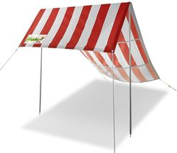 Shadee Fun Moana Beach Shade Red / White