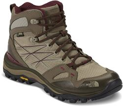The North Face Hedgehog Fastpack Mid GTX Wmns's Boot Dune Beige Deep Garnet Red