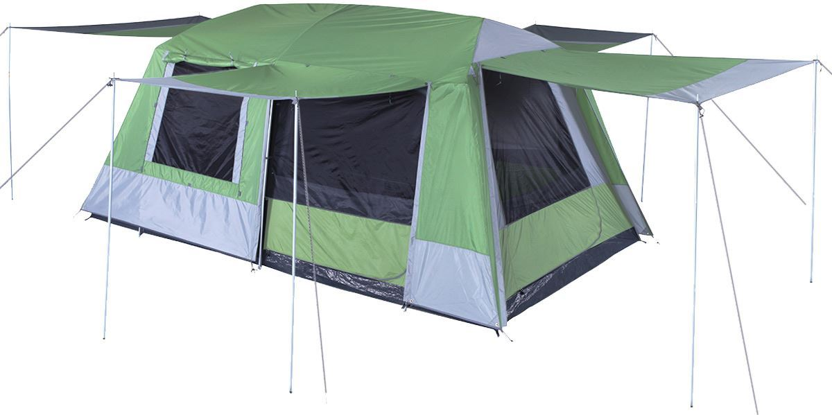 ... Oztrail Sportiva 8 Dome Tent Awning ...  sc 1 st  Snowys & Oztrail Sportiva 8 Dome Tent | Snowys Outdoors