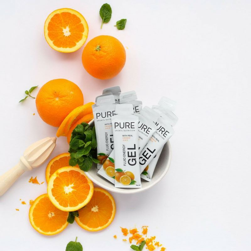 Picture of Pure Sports Nutrition Fluid Energy Gel Orange