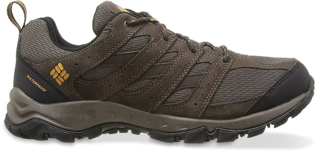 Columbia Plains Butte WP Men's Shoe Cordovan Squash