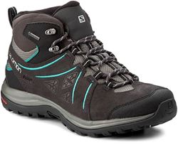 Salomon Ellipse 2 Mid Ltr GTX Wmn's Boot Phantom Castor Grey Aruba Blue