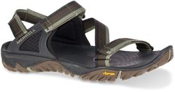 Merrell All Out Blaze Web Men's Sandal Dusty Olive