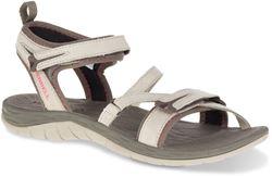 Merrell Siren Strap Q2 Wmn's Sandal Aluminium