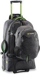 Caribee Fast Track 75L Travel Pack Black