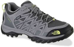 The North Face Storm III WP Wmn's Shoe Dark Gull Grey Chiffon Yellow