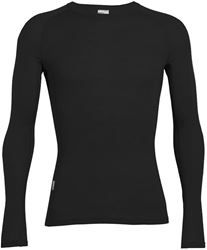 Icebreaker Everyday Men's Long Sleeve Crewe Black