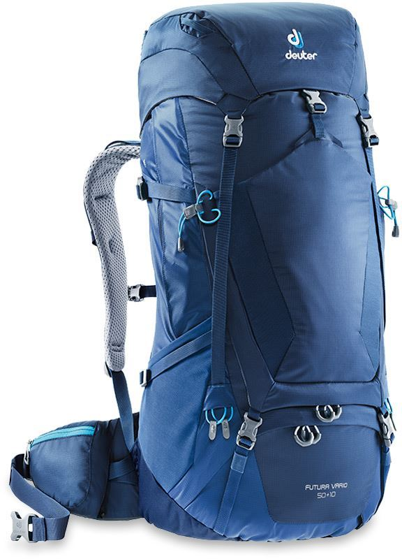 Deuter Futura Vario 50+10 Backpack Midnight Steel