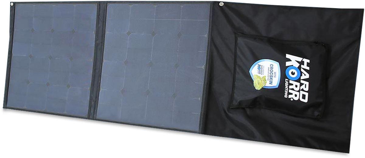 Korr 100W Flexible Folding Solar Mat with Crocskin