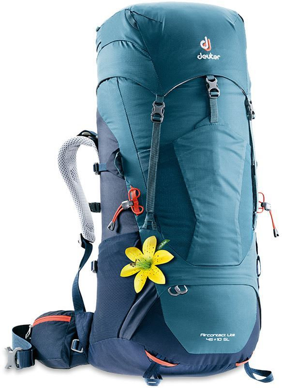 Deuter Aircontact Lite 45+10 SL Backpack Arctic Navy