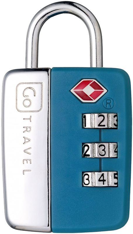 Go Travel Travel Sentry Lock - Blue