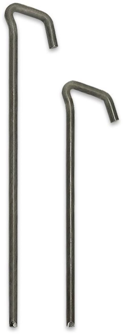Supa Peg Key-Head Raw Steel Tent Pegs