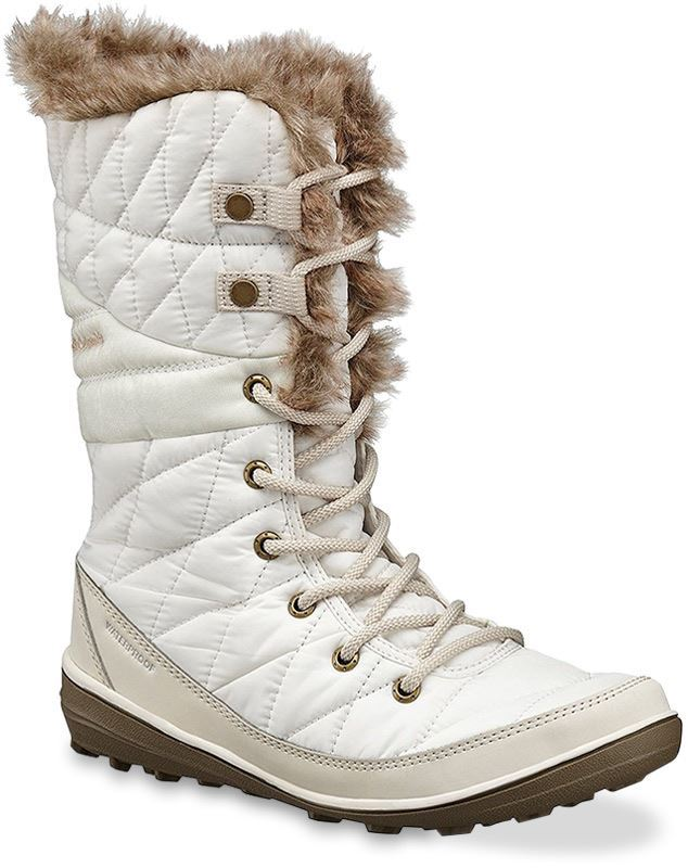 Columbia Heavenly Omni-Heat Wmn's Lace Up Boot Sea Salt Fawn