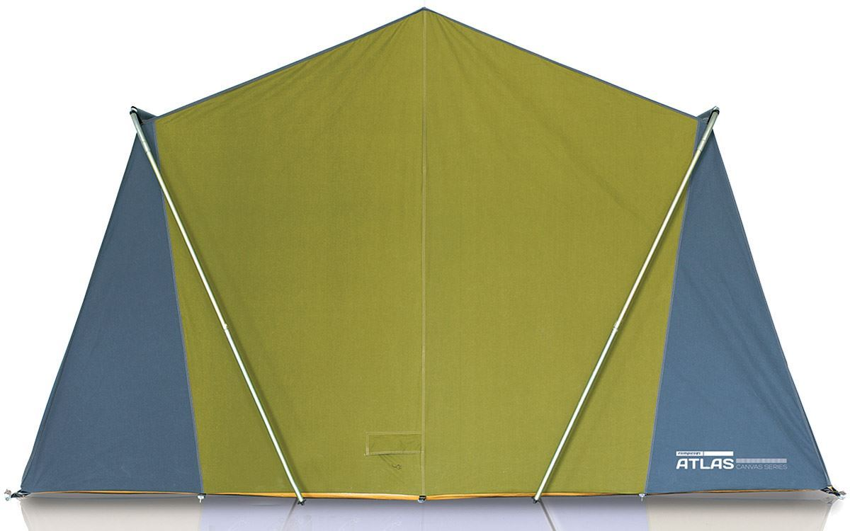Zempire Atlas Canvas Family Cabin Tent - Back View