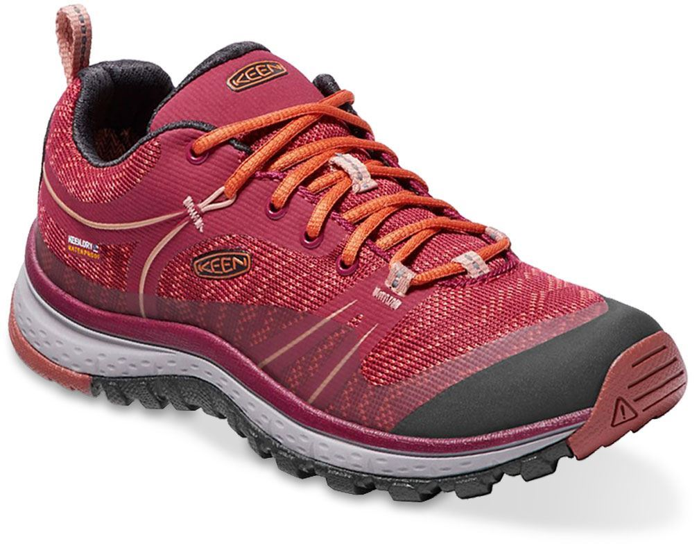 Keen Terradora WP Wmn's Shoe Rhododendron Marsala