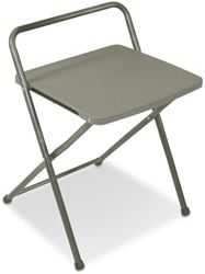 Coleman Folding Chair and Side Table