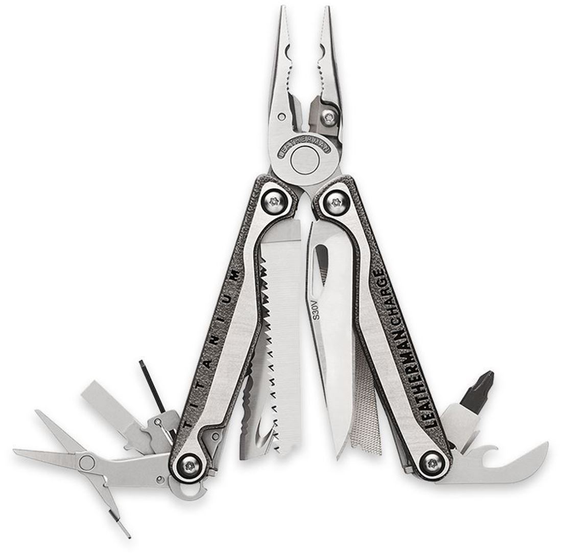 Leatherman Charge Plus TTI with Nylon Sheath