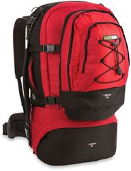 Black Wolf Cancun 80L Travel Pack - Chilli