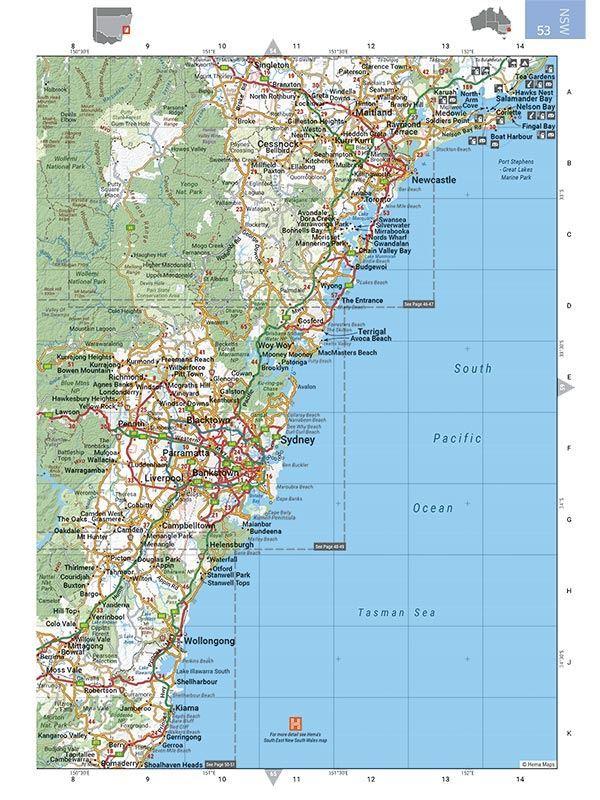 Picture of Hema Australia Road & 4wd Easy Read Atlas