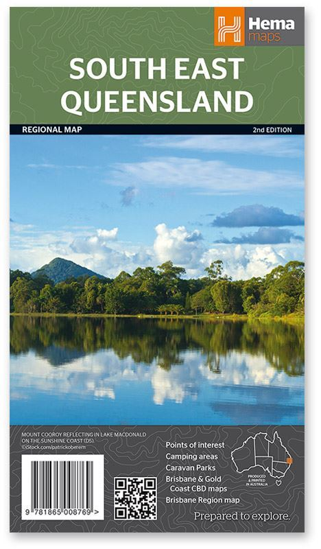 Hema South East Queensland Map