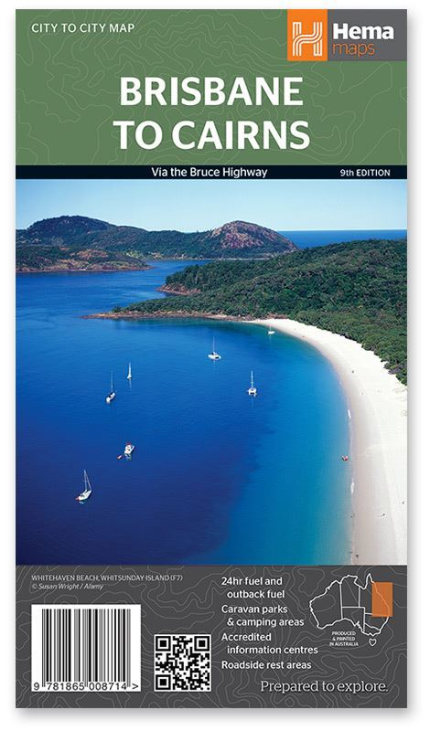 Hema Brisbane to Cairns Map