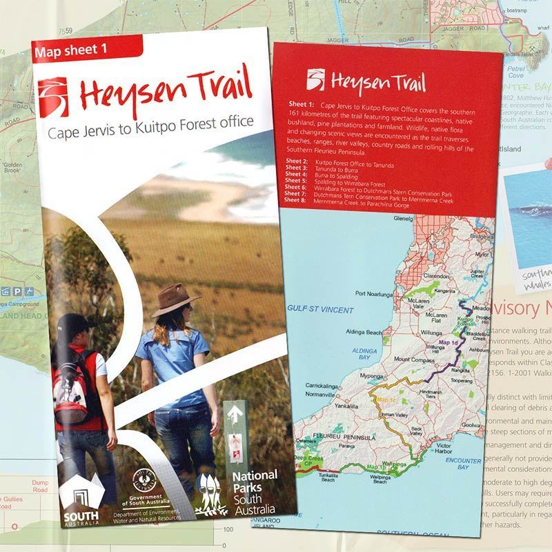 Picture of DEWNR Heysen Trail Map 1 Cp Jervis-Kuitpo
