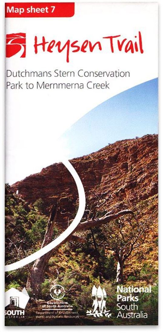 DEWNR Heysen Trail Map 7 Dutchmans Stern - Mernmerna Creek