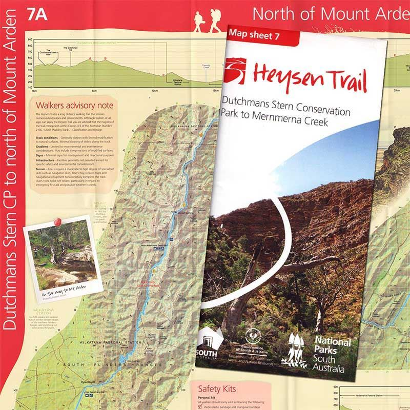 Picture of DEWNR Heysen Trail Map 7 Dutchmans-Mernmerna