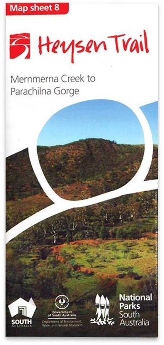 DEWNR Heysen Trail Map 8 Mernmerna Creek - Parachilna Gorge