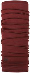Buff Merino Wool Headwear Solid Wine